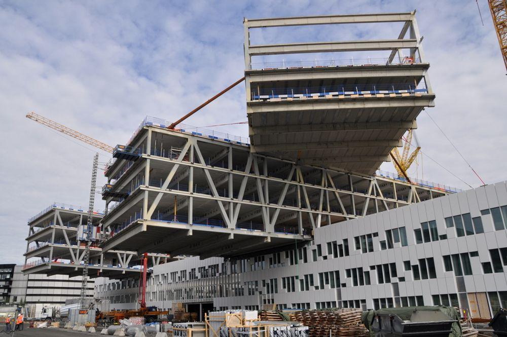 A-LAB VANT: Statoils nye hovedkontor er et resultat av en konkurranse mellom 45 prosjekter.