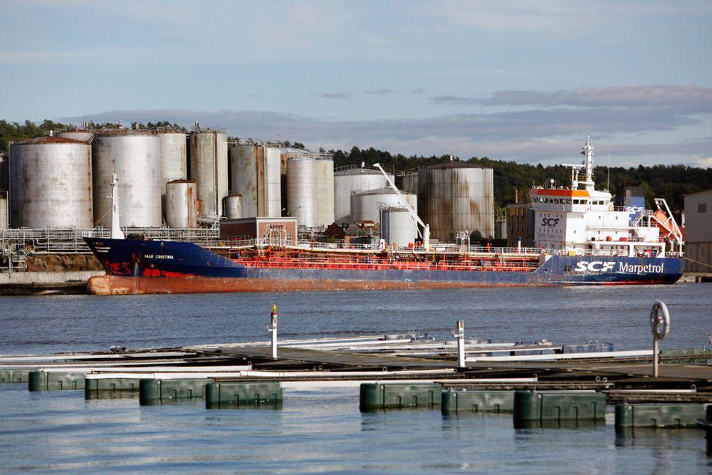 Det var en kraftig eksplosjon om bord i en båt som ligger til kai ved bedriften Oleon i Sandefjord tirsdag ettermiddag. Eksplosjonen ble trolig forårsaket av rester av oljeholdig vann i skipet, og skjedde ikke under lasting av farlig avfall.