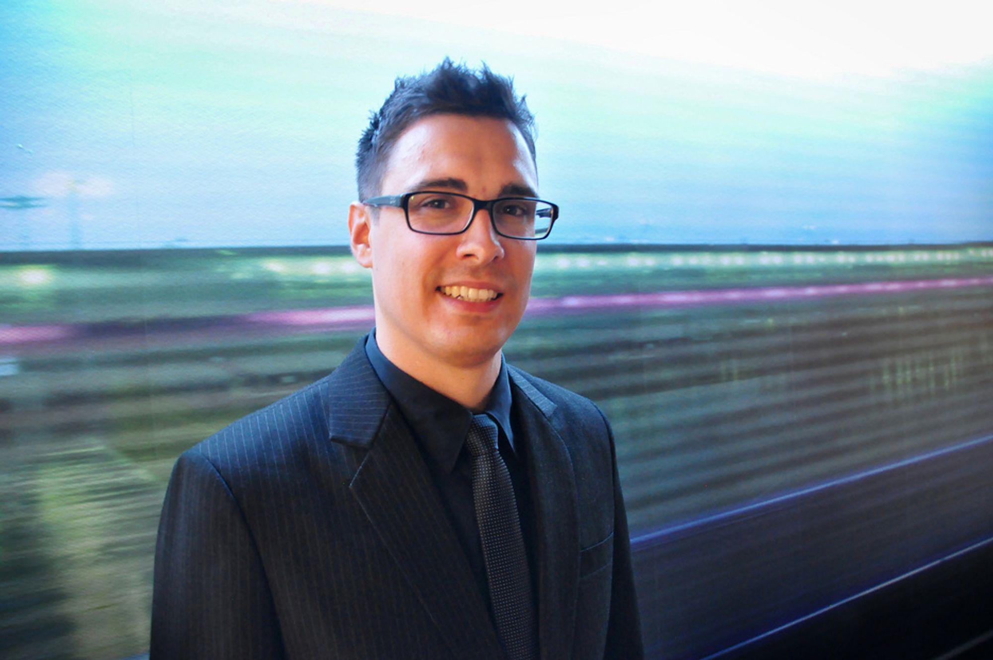 PRISVINNER: Magnus Olsen fikk RIF-pris for sin masteroppgave ved Universitetet for miljø- og biovitenskap, og mener at VA-bransjen har mye å lære av kraftbransjen.