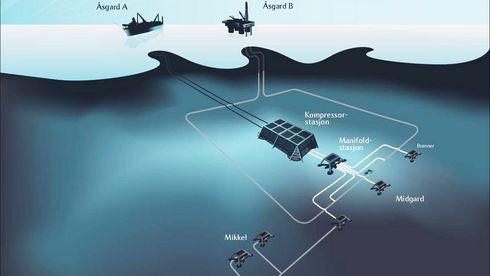 Statoil og Aker Solutions' sjumilssteg under vann