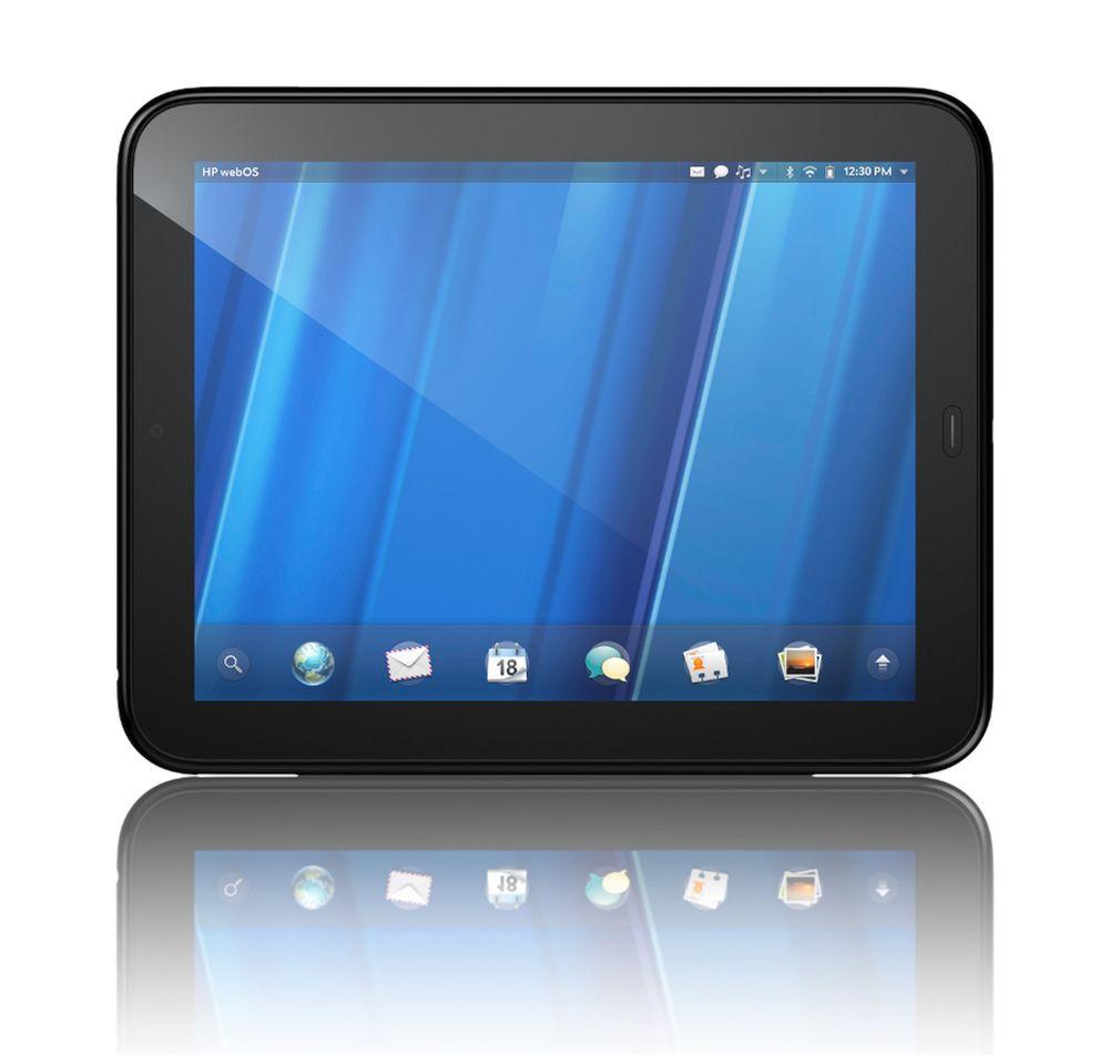 DØDE FØR FØDSEL:HPs nye TouchPad-nettbrett kom aldri på markedet i Europa, og ble trukket tilbake bare noen uker etter lansering i USA.