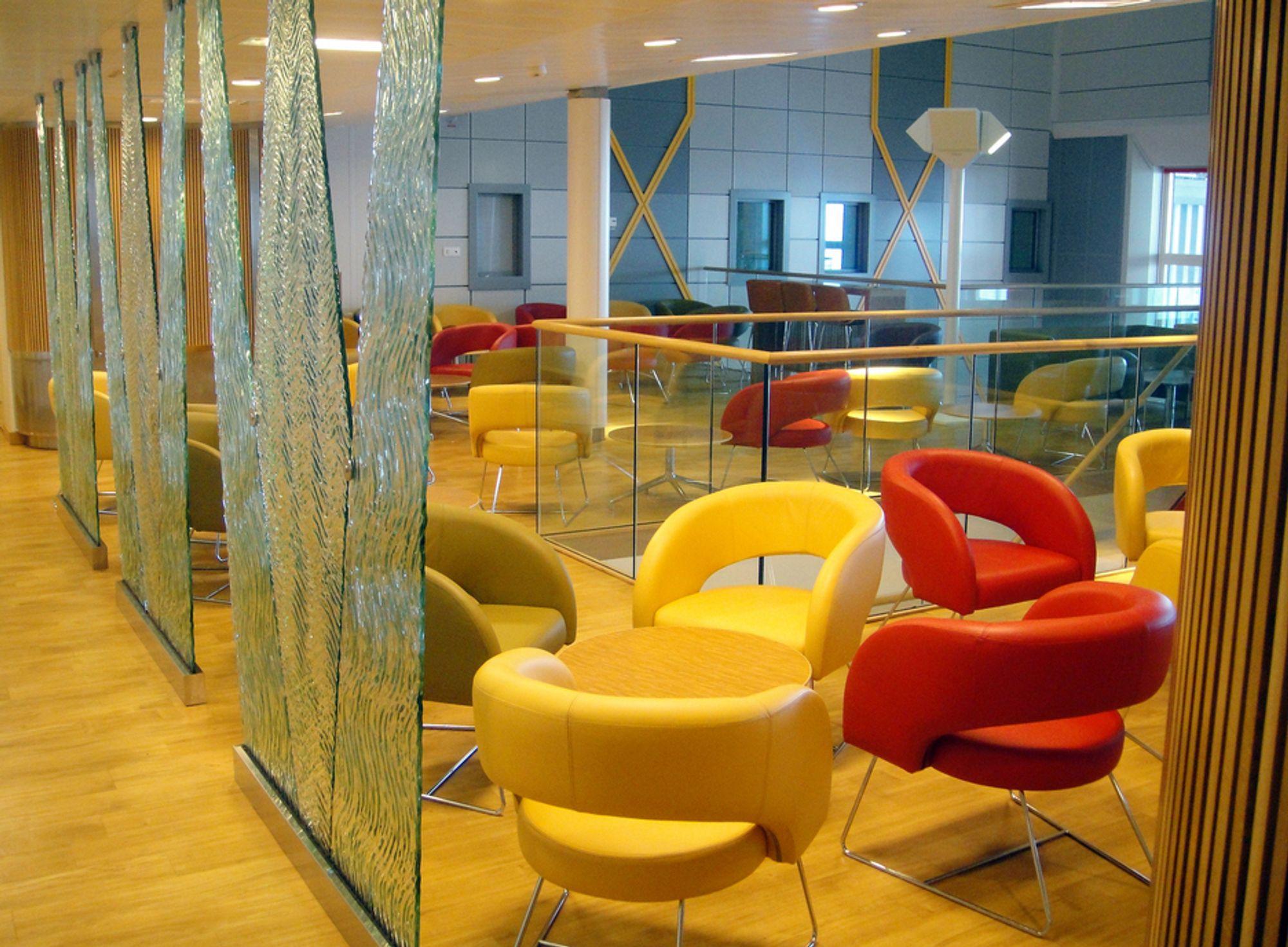INTERIØR: BP har brukt interiørarkitekter på den nye Valhall-plattformen, som de selv kaller et hotell.