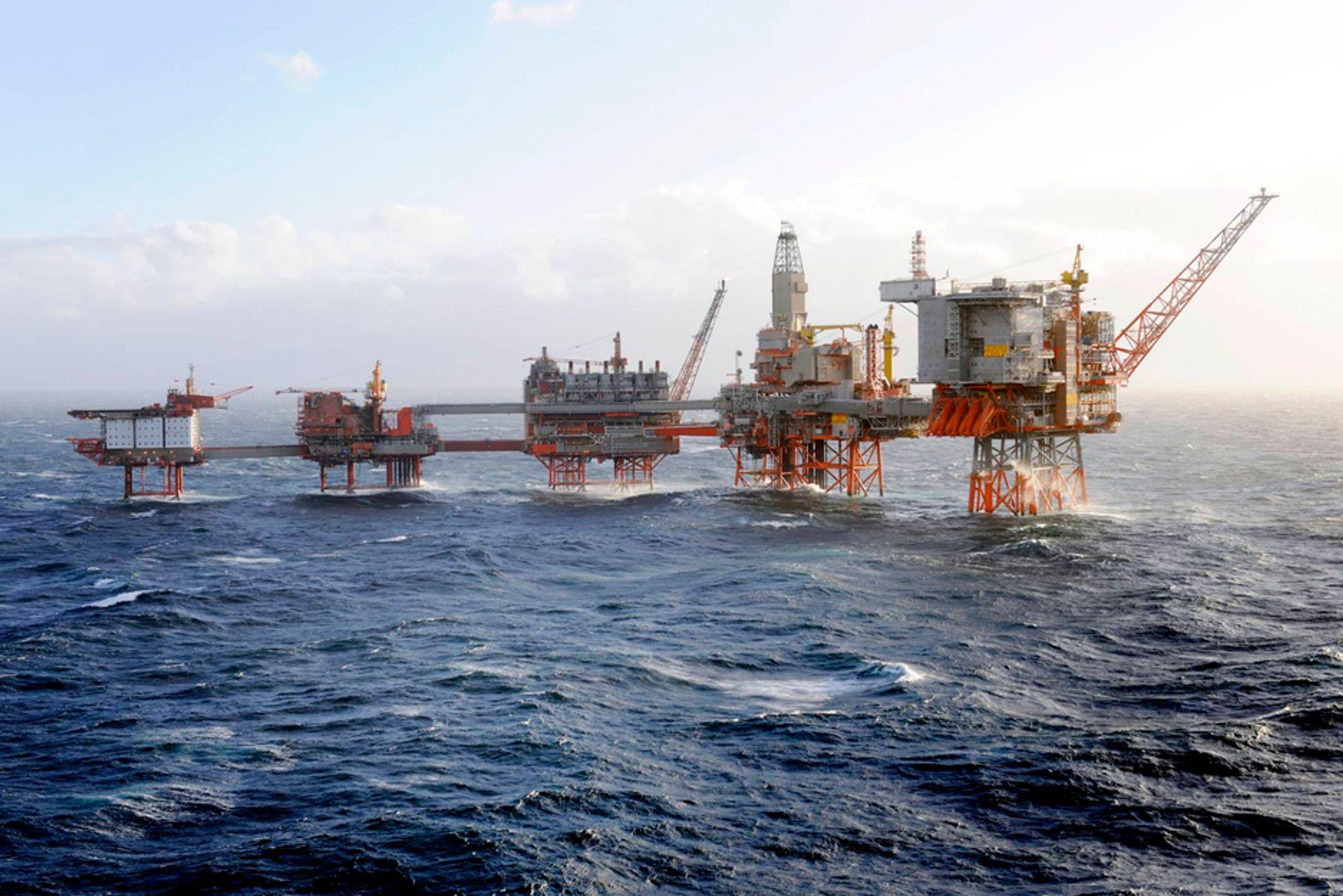FIKK JA: BP har fått tillatelse av departementet til å styre produksjonen på Valhall. De ansatte kaller det et slag i trynet.