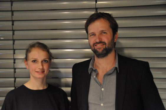 HAGEPROSJEKT: Rotterdam-baserte Silke Volkert og Magnus Weightman vil gi Grønmo tibake til folket