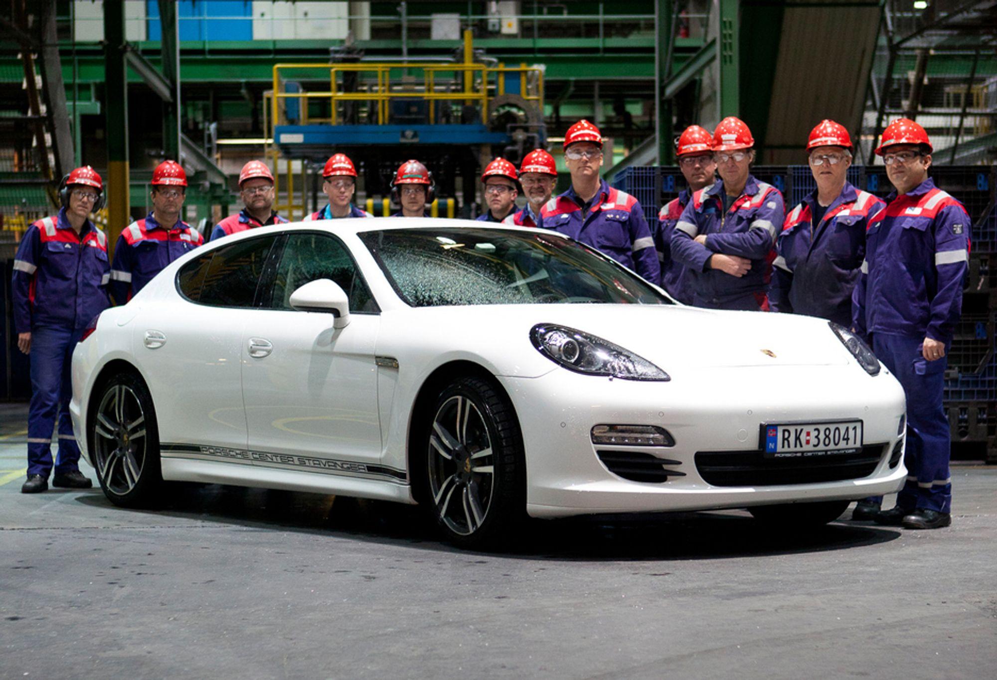 VINNERE: Farsund Aluminium Castings unike støpeteknologi har gitt dem en betydelig ordrereserve hos verdens fremste bilprodusenter. Bedriften er i dag verdensledende innen støpte aluminiumsdeler, og vinneren av Årets Ingeniørbragd 2011.