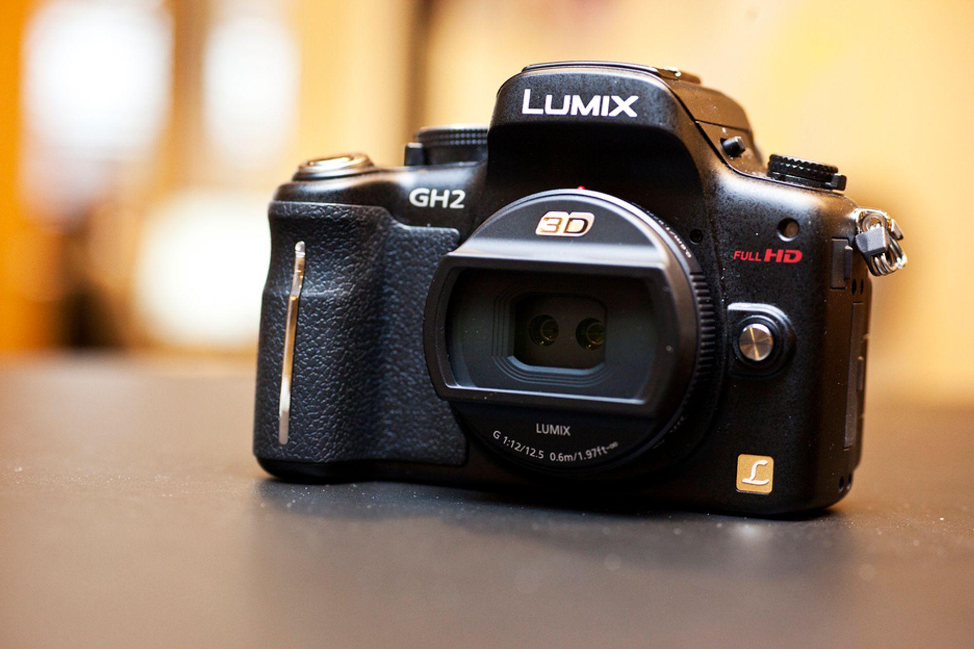 3D-linse er nytt til Lumix GH2.