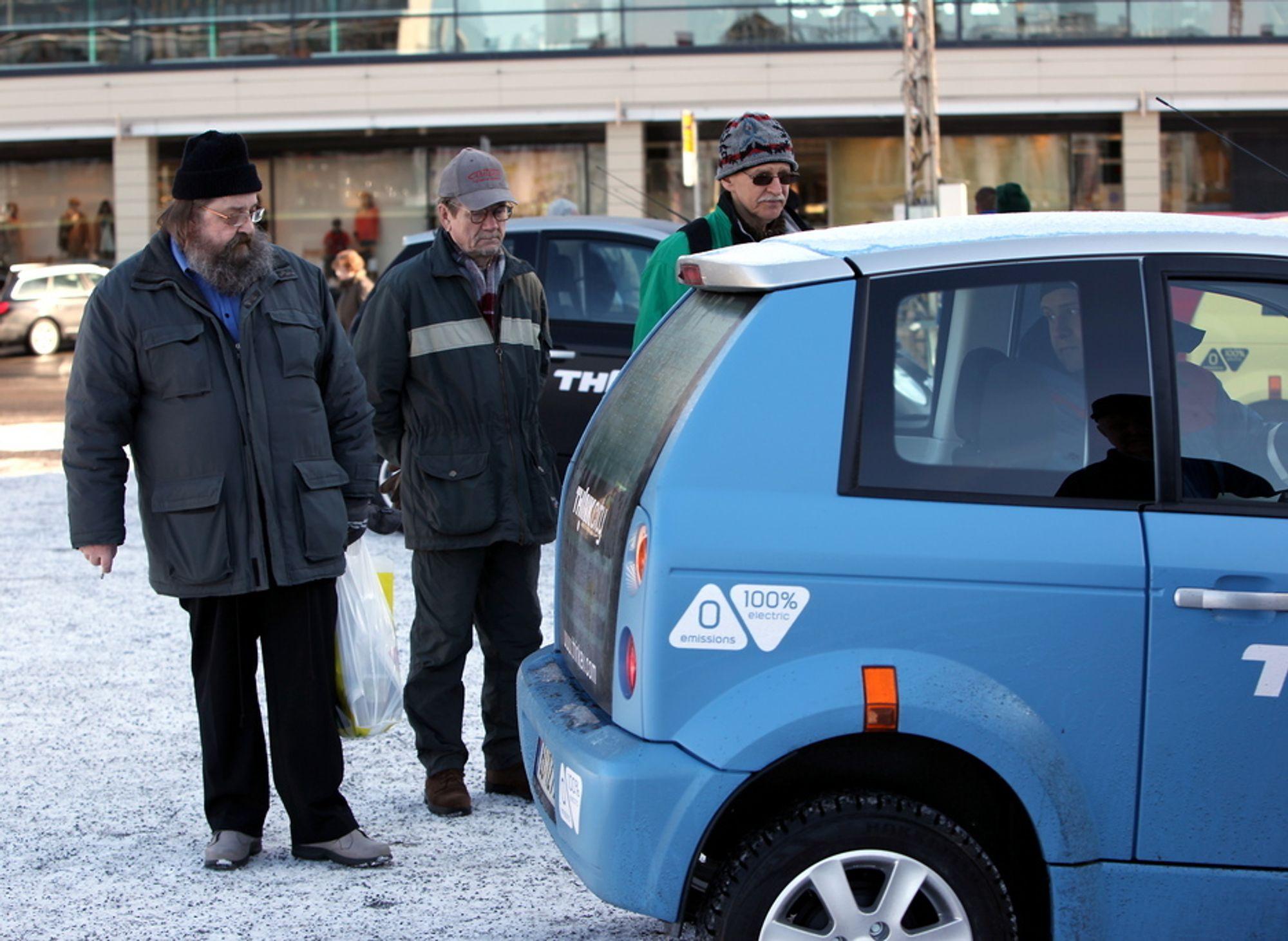 Statlige Investinor var med på redningspakken for Think sammen med Valmet og Ener1 høsten 2009. Et av resultatene var at elbilproduksjonen ble flyttet fra Aurskog til Finland hvor bildet er tatt.