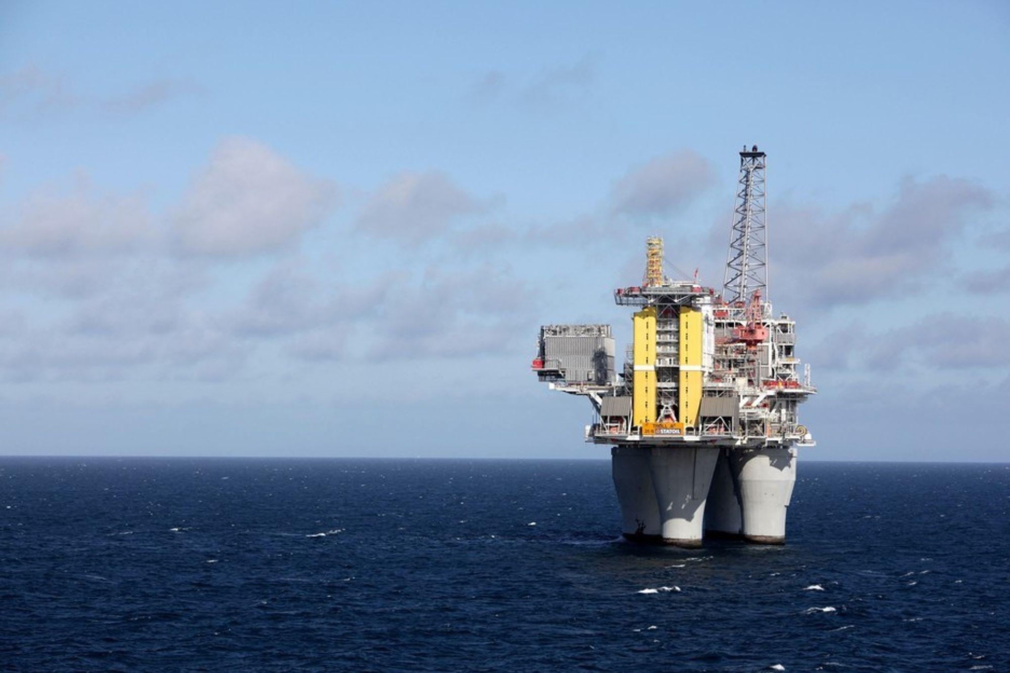 KUNNE TAPT MILLIARDER: Hvis ikke Olje- og energidepartementet hadde latt Statoil ta mer kraft fra strømnettet på land til Troll A, kunne Norge tapt milliarder av kroner i gassinntekter.