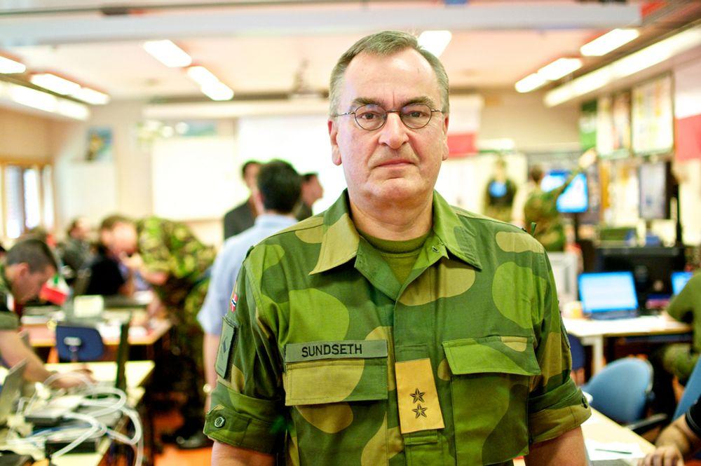 Generalmajor Roar Sundseth i INI