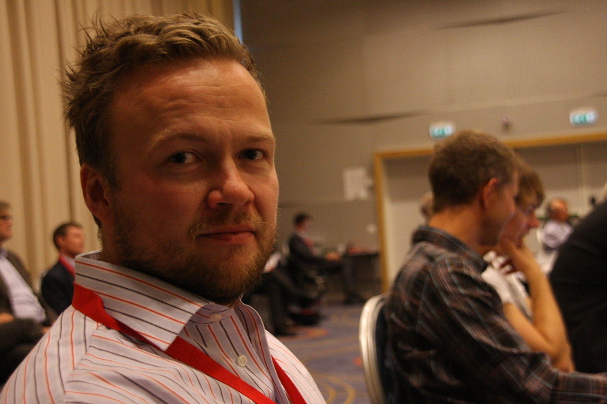 VINNER: Systemutvikler Anders Haugeto mener staten kan vinne på å droppe it-prosjektene.