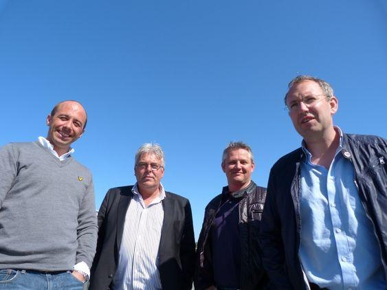 Grundere MD Group, Kristian Dalseide, Tore Halvorsen, Steinar Heimtun, Ole K. Torsvik.