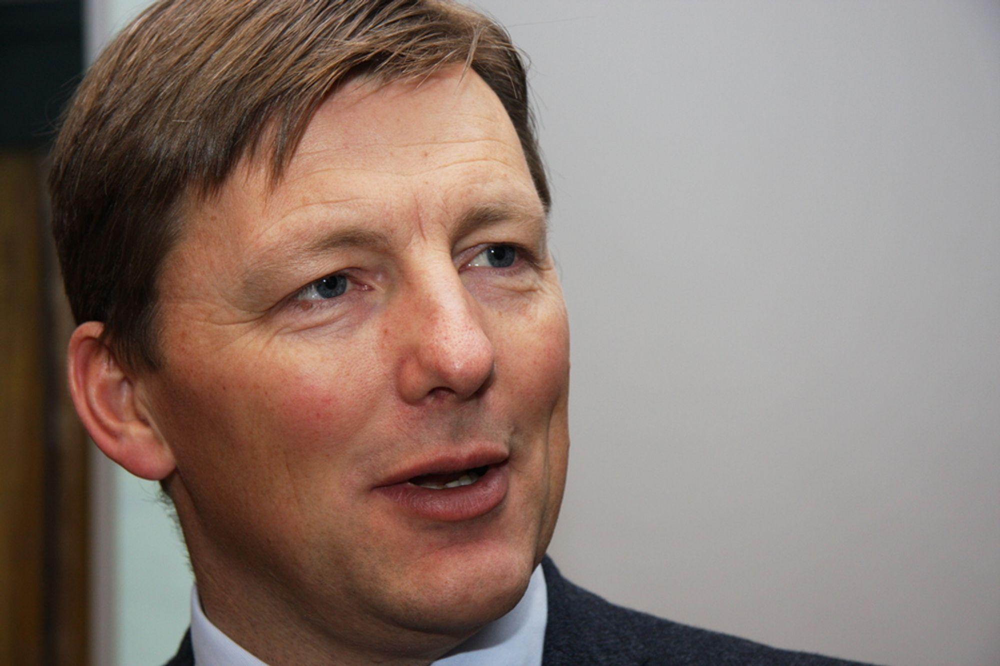 REKORD: Pål Egil Rønn har ledet AF Gruppen frem til et rekordresultat i 2010. Han ser for seg vekst i 2011.