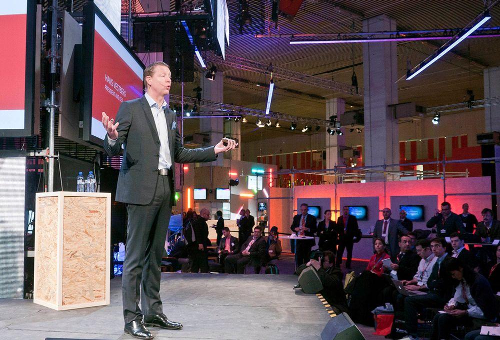 TROR PÅ VEKST: Med finanskrisen og komponentmangel bak seg og et stort sug i markedet etter mobilt bredbånd bobler Ericssonsjefen Hans Vestberg av fremtidstro.
