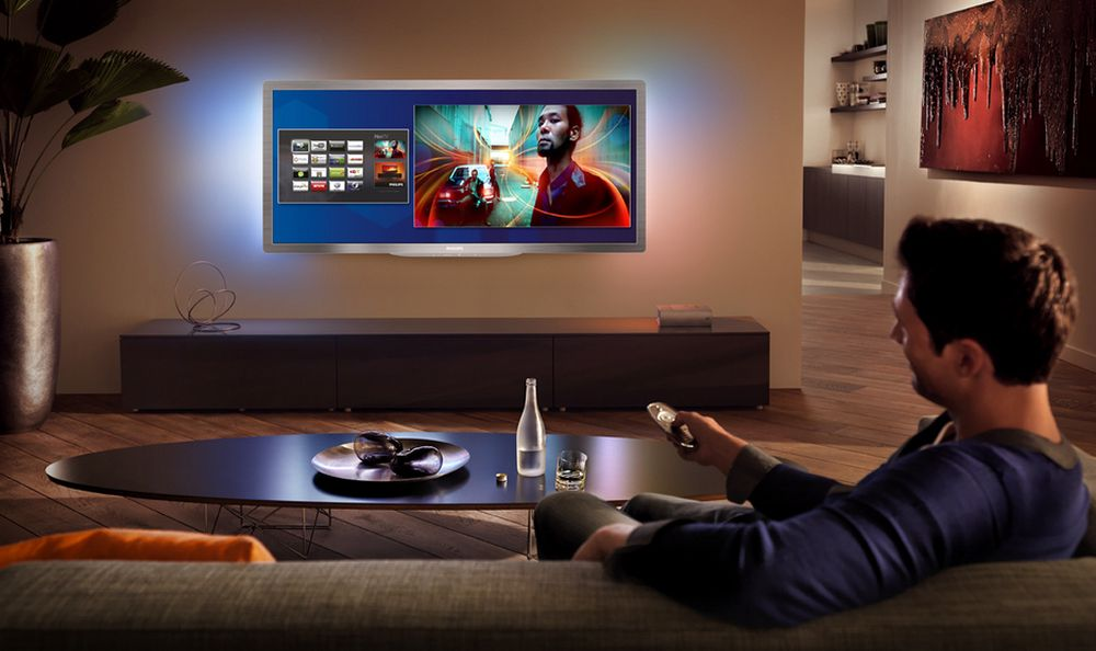 BREDT OG BILLIGERE:Nye Cinema 21:9 Gold Series Smart LED TV har passiv 3D og vil koste rundt 20 000 når den kommer til sommeren.