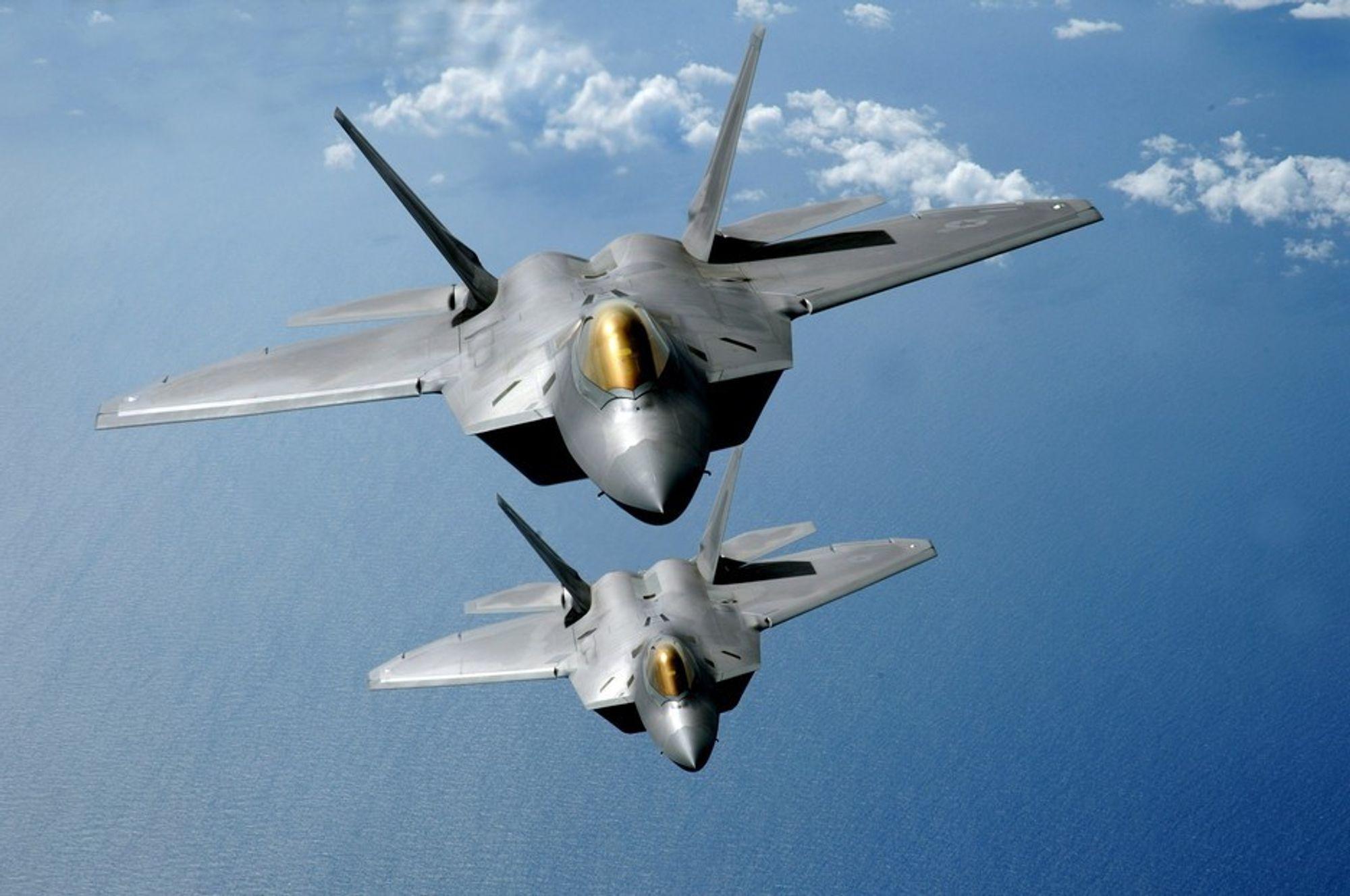 Det fjerde F-22 Raptor-kampflyet har styrtet.
