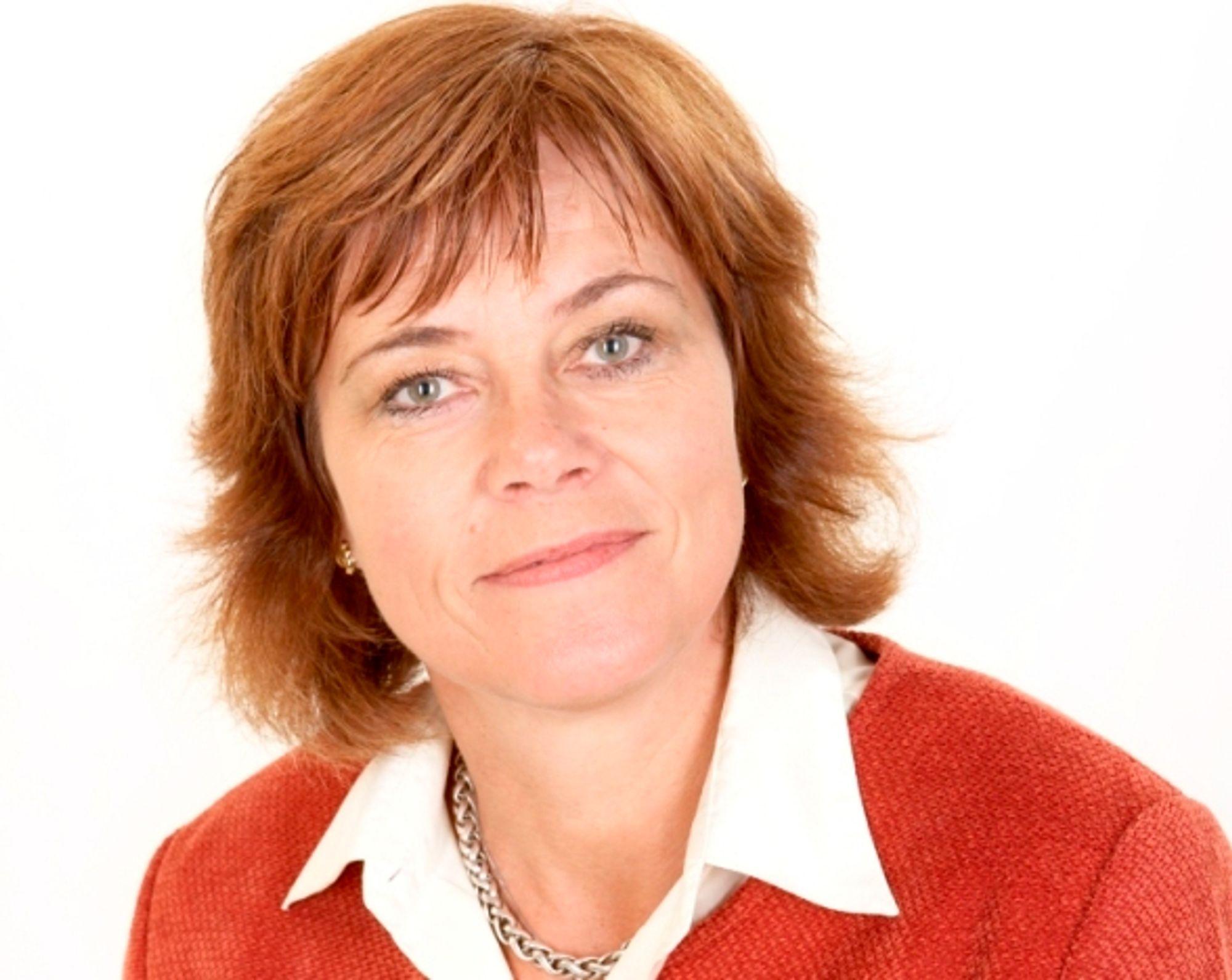 NYTT: Berit Kjeldsberg føler seg som rusk i maskineriet.