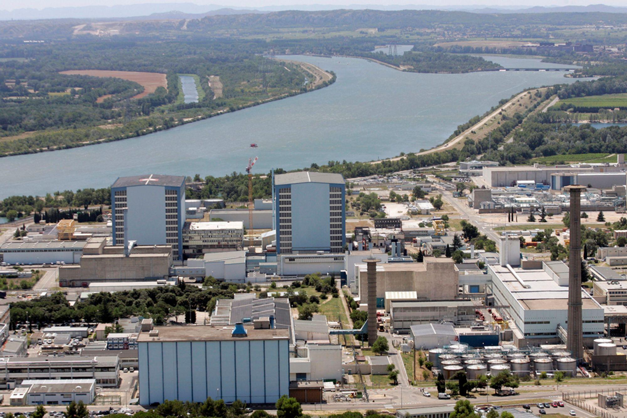 ULYKKE: På mandag mistet en person  livet og fire ble hard skadd i en eksplosjon ved et atomanlegg i Marcoule i Sør-Frankrike.