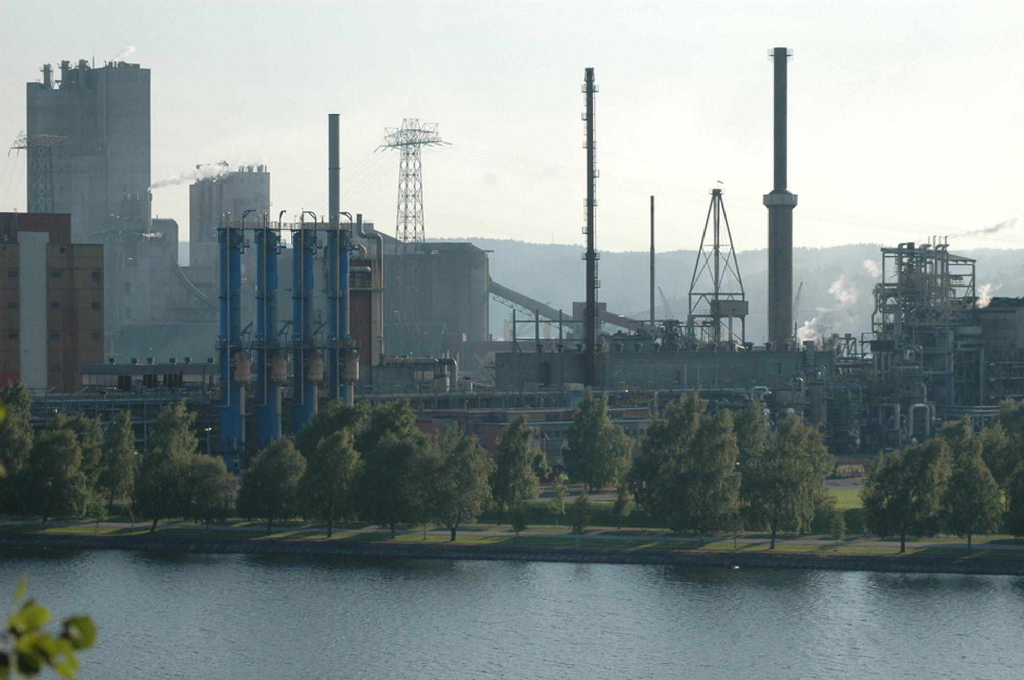 Kraftkrevende industri står for 80 prosent av industriens elektrisitetsbruk.