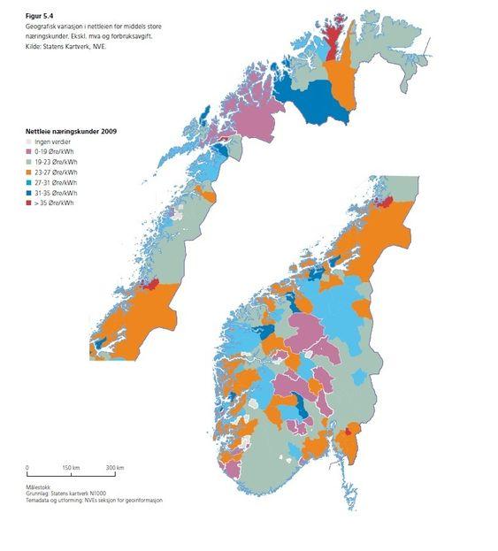 Energistatus 2010 fra NVE.
