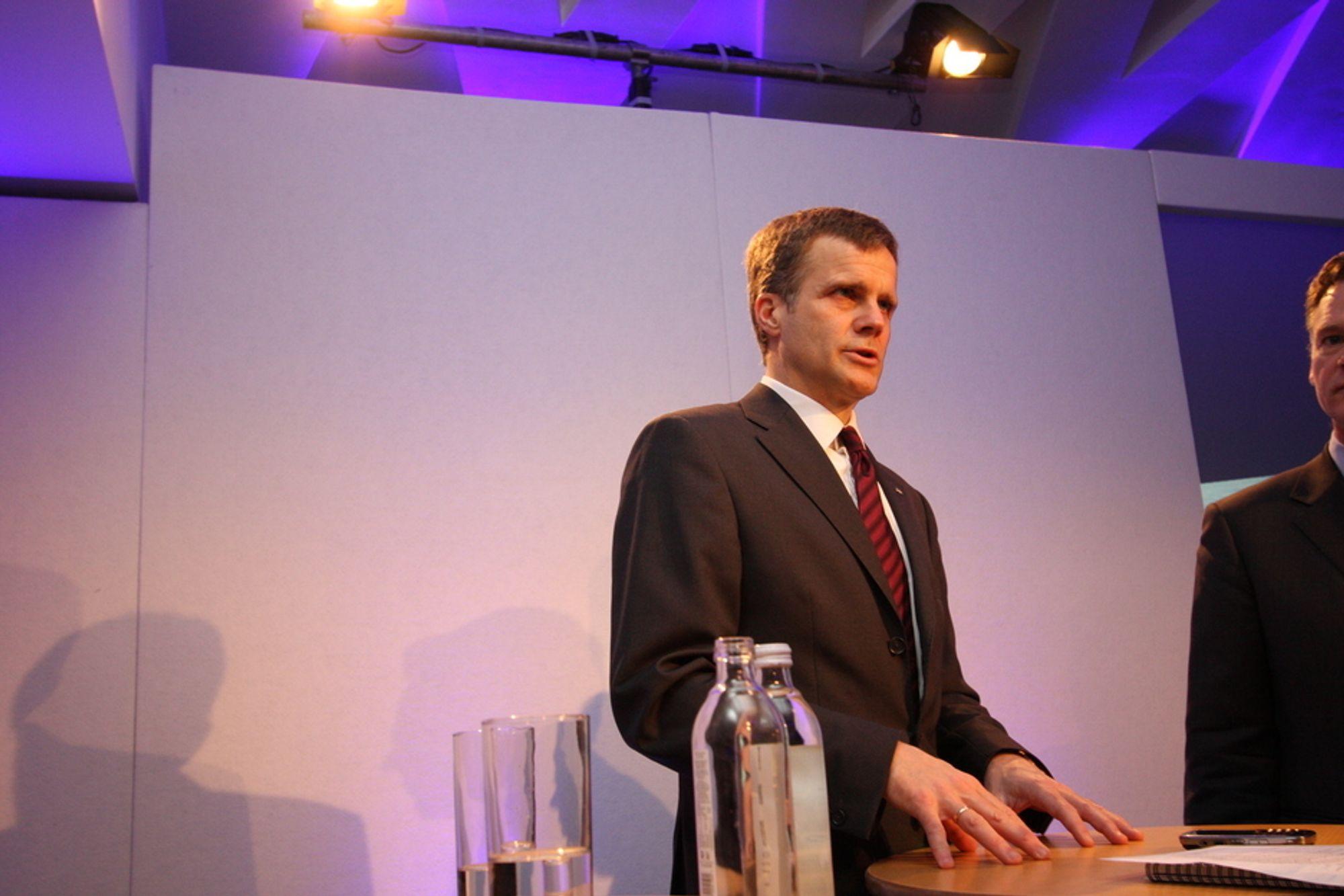 HELGE LUND: Statoil-direktøren sier til Teknisk Ukeblad at Jamap ville passe godt inn med selskapets offhsoreerfaring.
