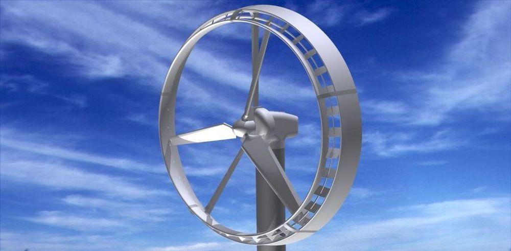 KAN KUTTE KOSTNADER TIL HAVS: Innowind utvikler teknologi for rotorblader som skal redusere dimensjon på vindmøllen med to tredjedeler.