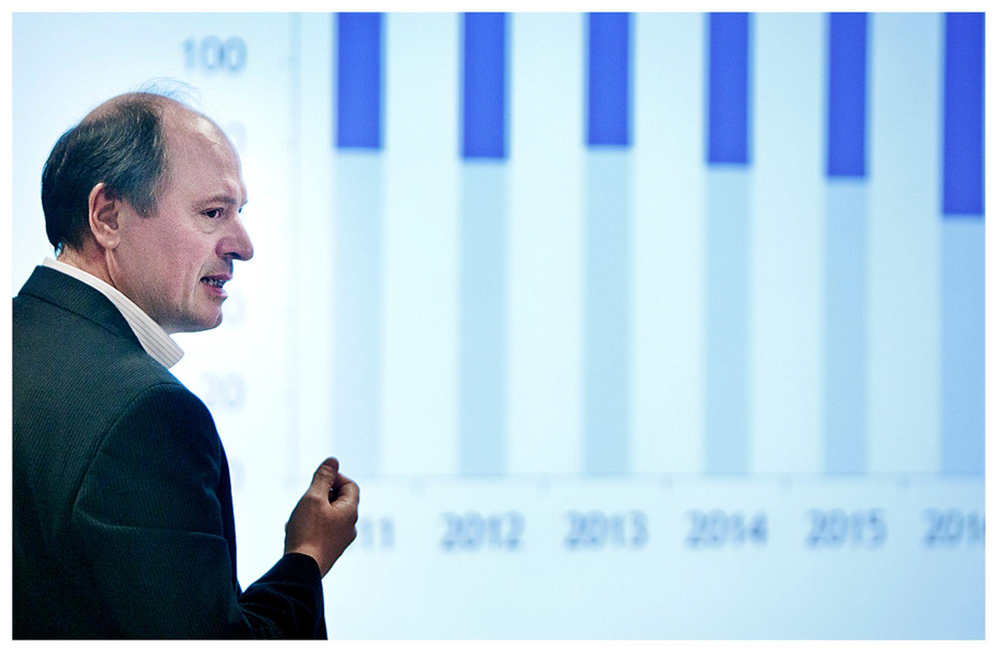 Bjørn Harald Martinsen spår høye investeringer, prisvekst og forskyvning av prosjekter på norsk sokkel