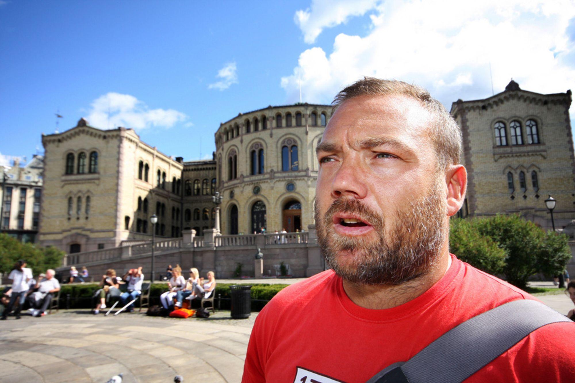 KNEIK: Direktør Fredrik Syversen hos IKT Norge opplever at norske nyetablerere lider av pengemangel i oppstarten.