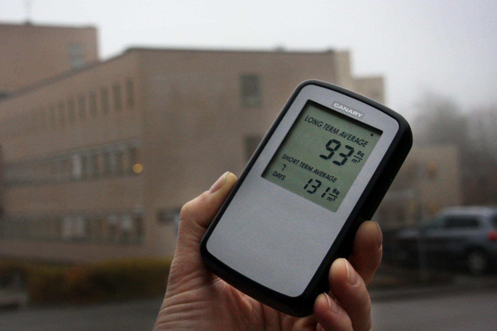 TIMING: Etter at Corentium startet på utviklingen av en digital radonmåler for forbrukermarkedet, kom det strengere regler som øker målebehovet.