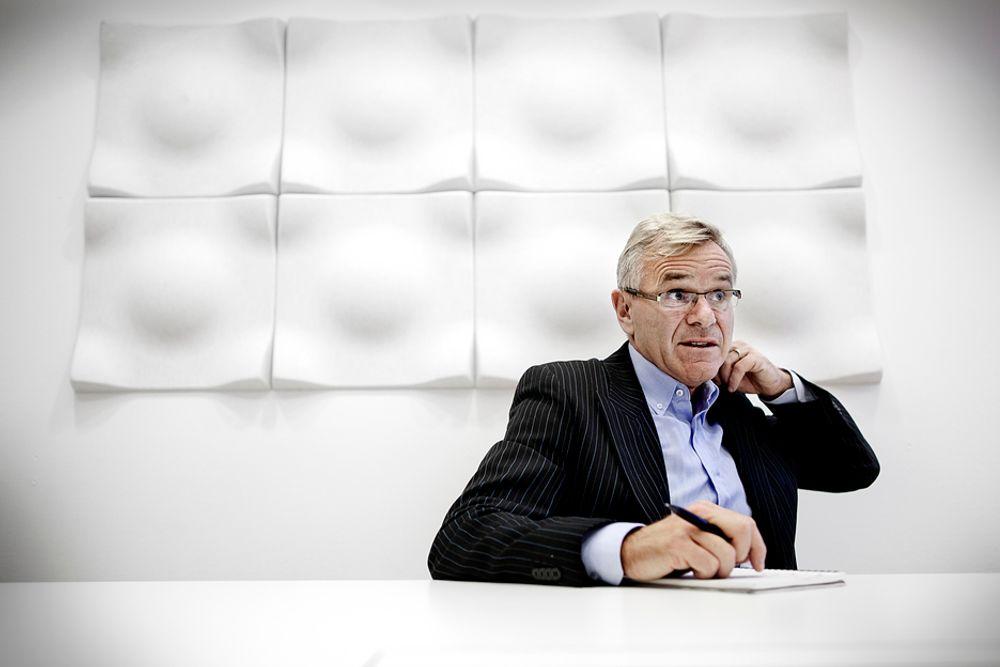 OPTIMIST: Terje Osmundsen i Scatec Solar tror produksjonen av solcellekraft kan vokse til 15-20 prosent av verdens totale elektrisitetsproduksjon en gang mellom 2040 og 2050.