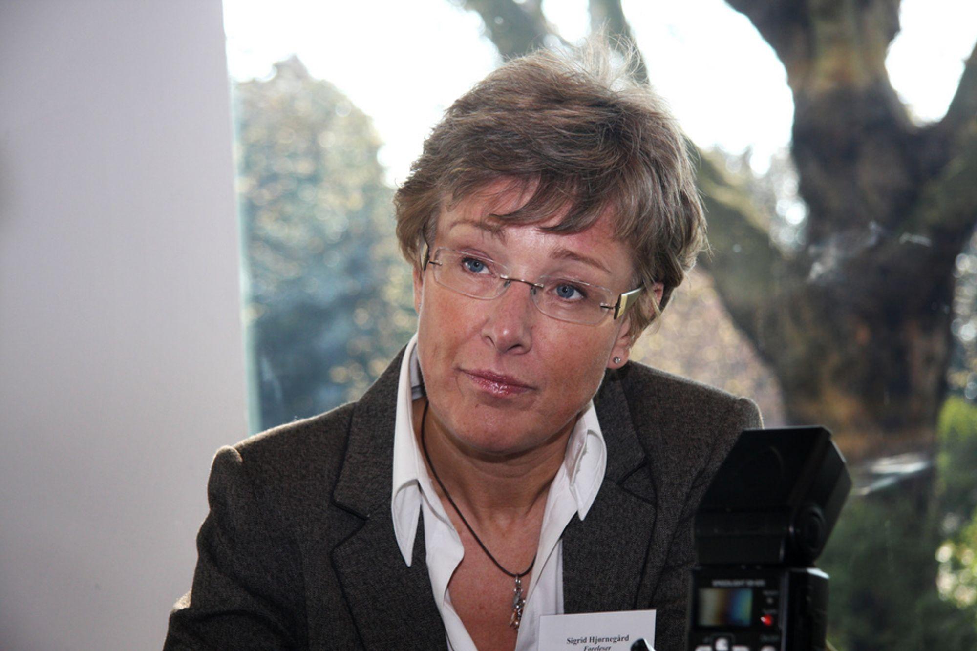 TILBAKE I MANESJEN: Etter en karantene på kun seks måneder er tidligere statssekretær Sigrid Hjørnegård tilbake i energimanesjen, som lobbyist for kraftbransjen.