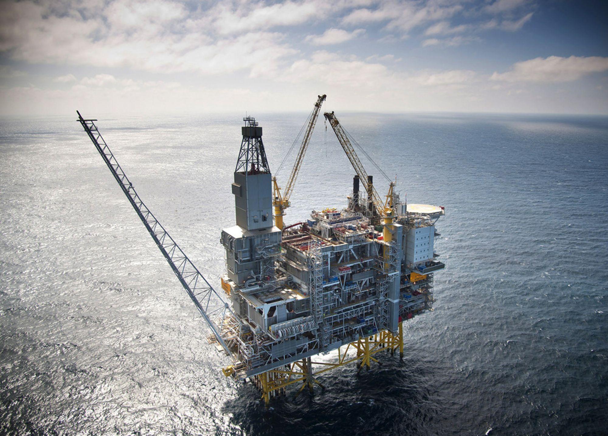 KØ AV PROSJEKTER: Oljeselskapene har en rekke felt som bygges ut med plattformer på Granes størrelse, blant annet kan Aldous/Avaldsnes bli bygget ut med tre slike plattformer. På blokka i dag prosjekteres Hild for Total, Mariner for Statoil og Lundo for Lundin, alle prosjekter av Granes størrelse.