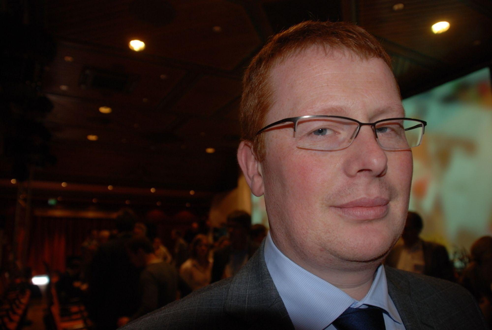 RASENDE: Milliardinvesteringer er i fare etter naturforvaltningens utspill, mener Småkraftforeninges Henrik Glette.