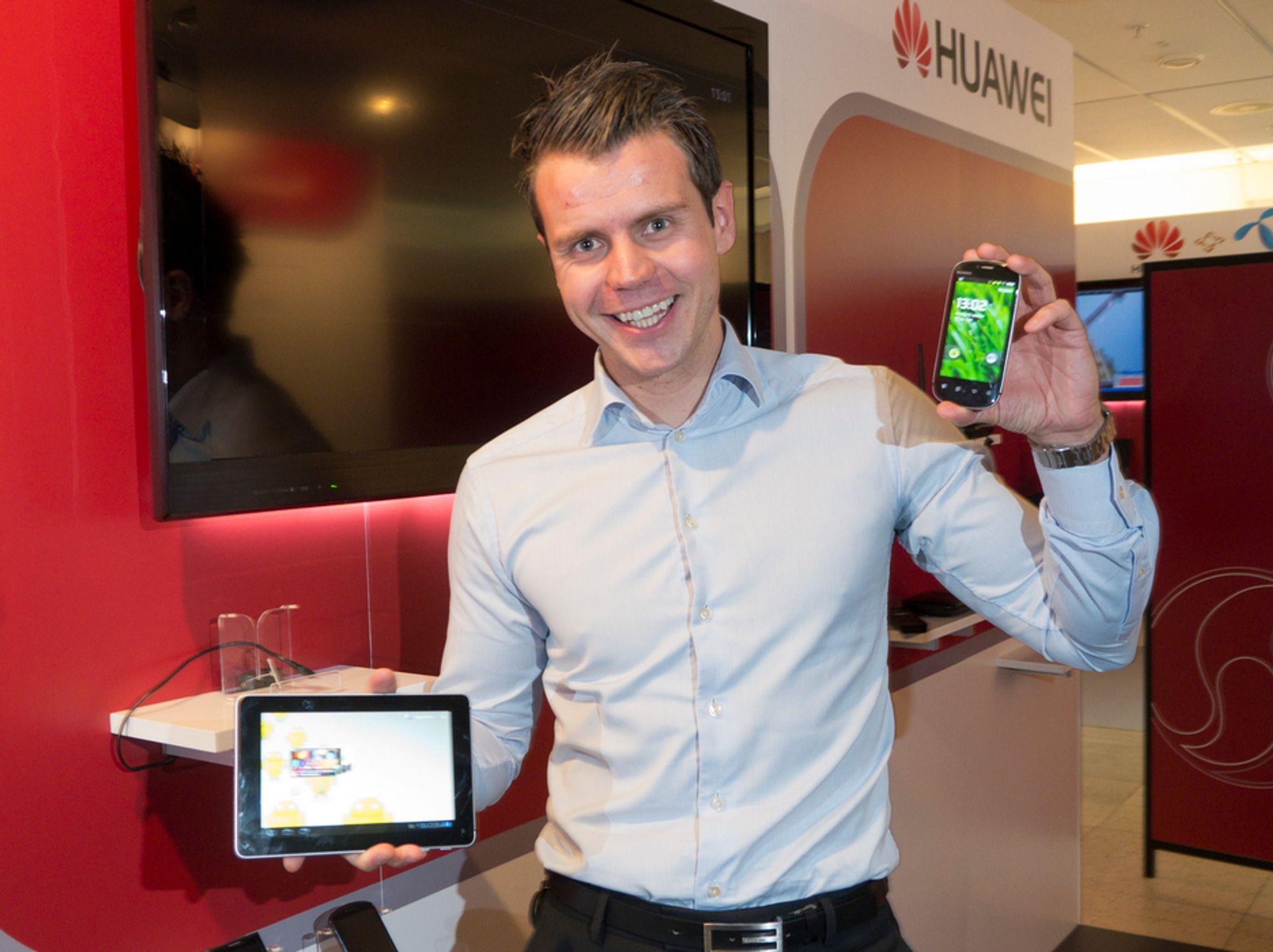 Huawei tror på kjempevekst