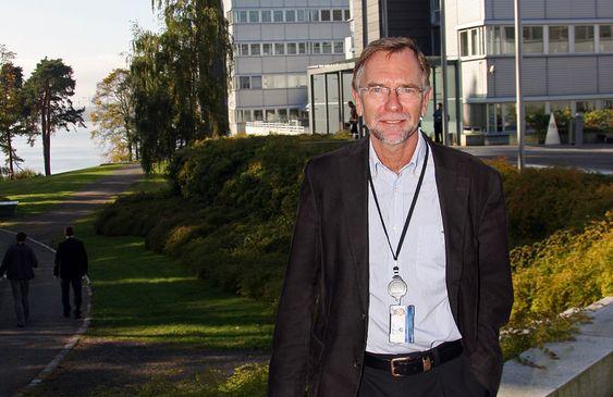 Erik Smith. Leder av styringsgruppa til Follobane-prosjektet i Jernbaneverket.