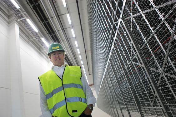AMBISIØS: Prosjektdirektør Erik Bern håper det nye anlegget på Gjelleråsen skal gjøre Arcus-gruppen til Nordens mest effektive produsent av vin og brennevin.