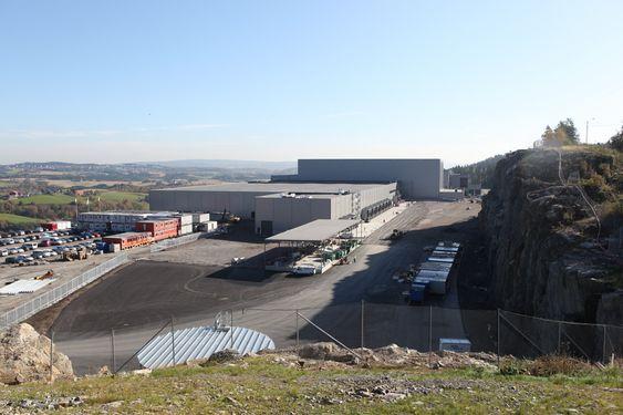 STORT: Det nye anlegget på Gjelleråsen ligger naturskjønt til i Nittedal kommune.