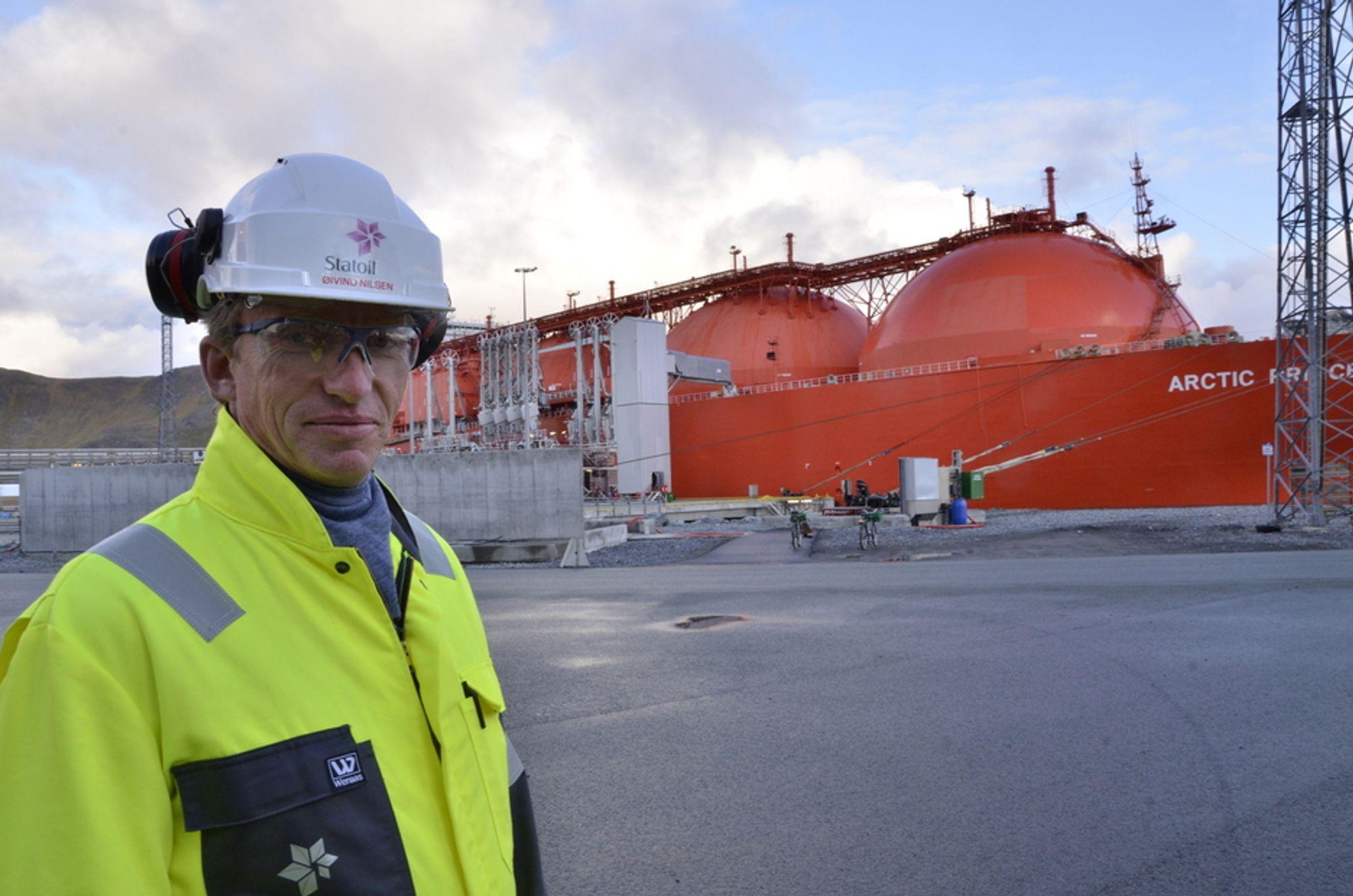 NOK EN STOPP: - Vi må stoppe skipningene i nedstengingsperioden, sier Øivind Nilsen.