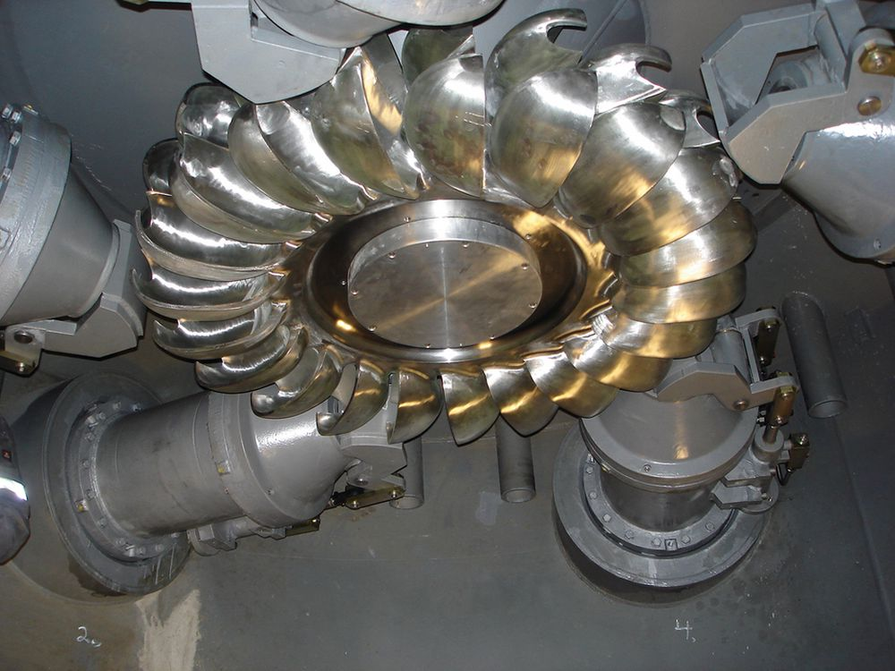 TURBINSTØTTE: Utvikling av ny turbinteknologi for vannkraft er ett av områdene Enova ønsker å støtte.