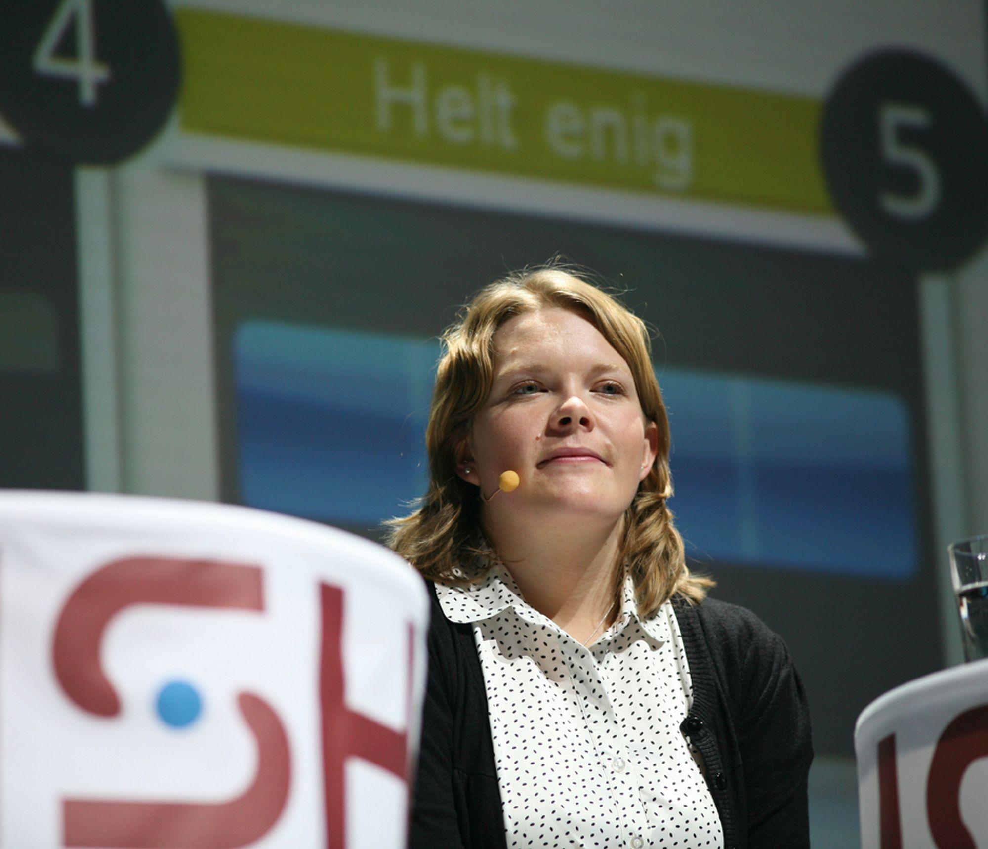 ENIG: Anne Karine Nymoen mener alenegang fører til at mange studenter ikke får fordype seg godt nok i faget.