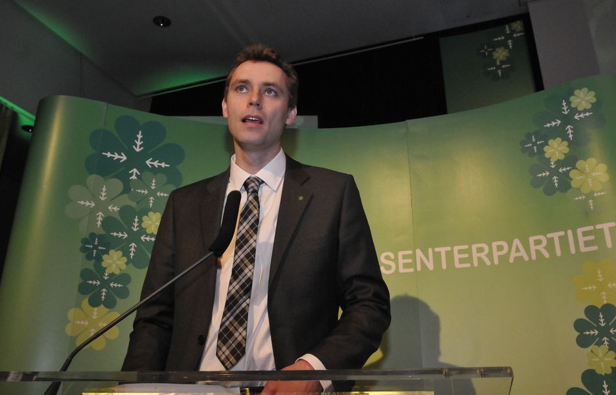 Ola Borten Moe er nyvalgt nestleder i Senterpartiet.