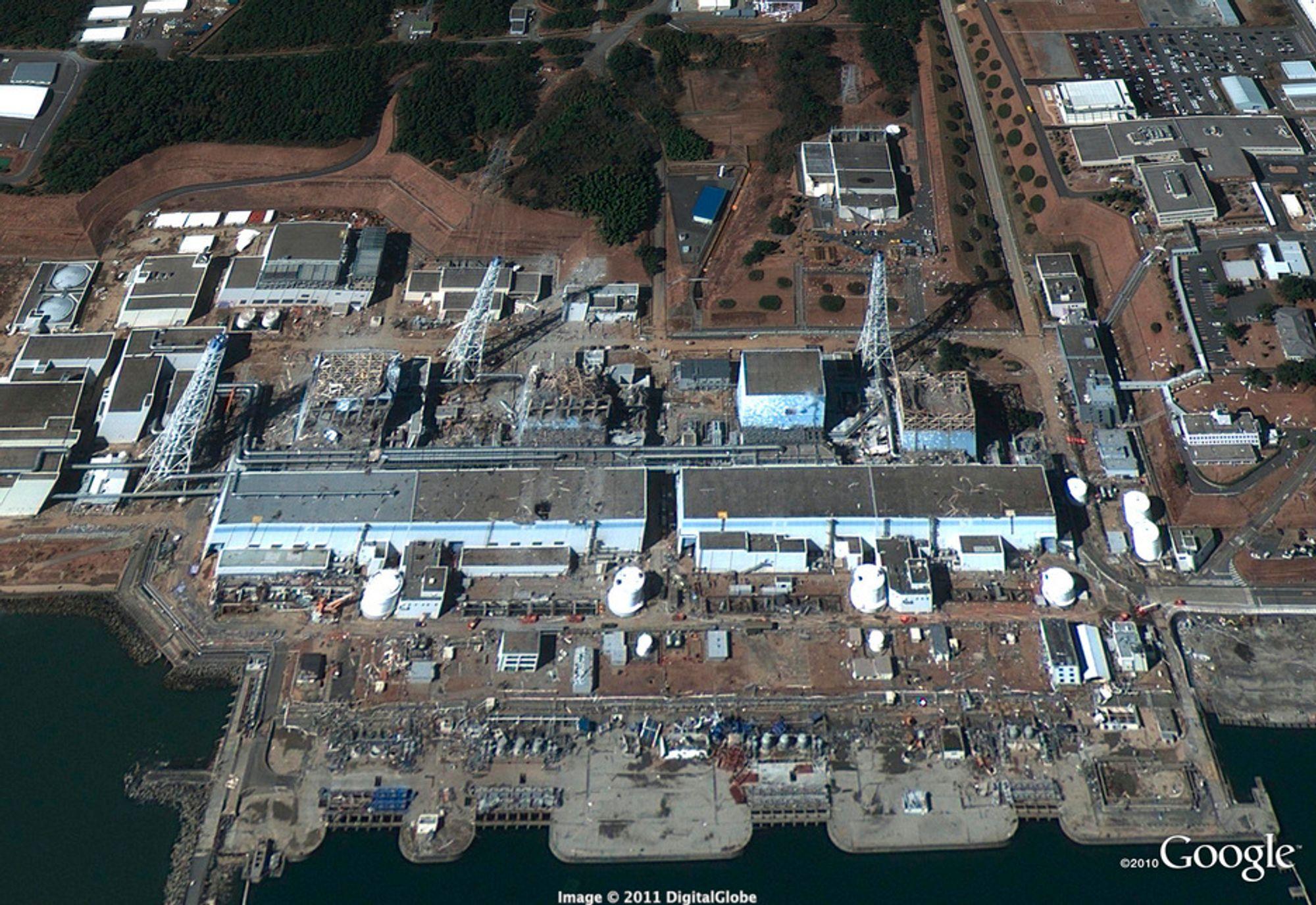 PLUTONIUM: TEPCO hevder at plutoniumet som er funnet ikke er skadelig for mennesker.