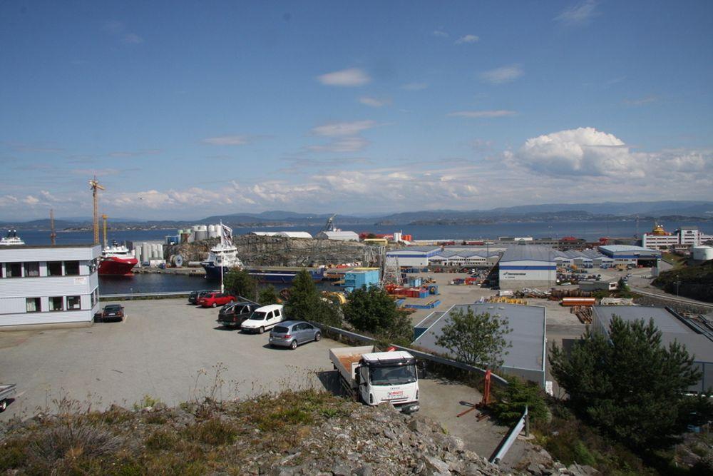 Coast Center Base (CCB) utenfor Bergen er ett av stedene der ABP nå har kjøpt eiendommer.