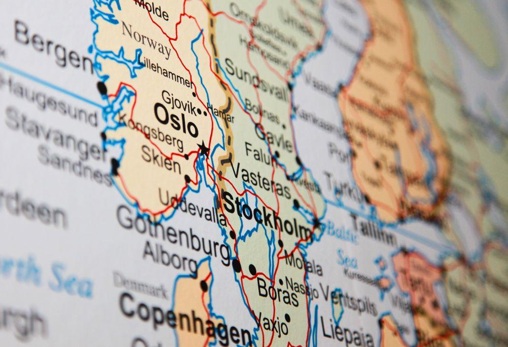 LYKKELAND: Norge har flere svært fornøyde ansatte enn Sverige og Danmark.