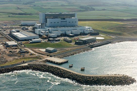 MANET-TRØBBEL: En reaktor er fortsatt stengt ved kjernekraftverket Torness. Kraftverket er fra 1989.