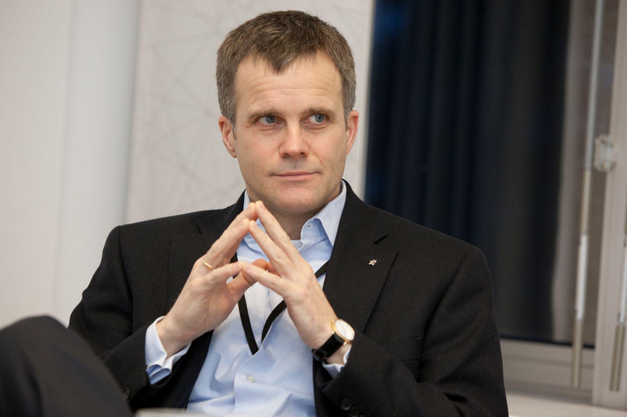 Helge Lund produserte mindre olje og gass i 2010 enn forventet.