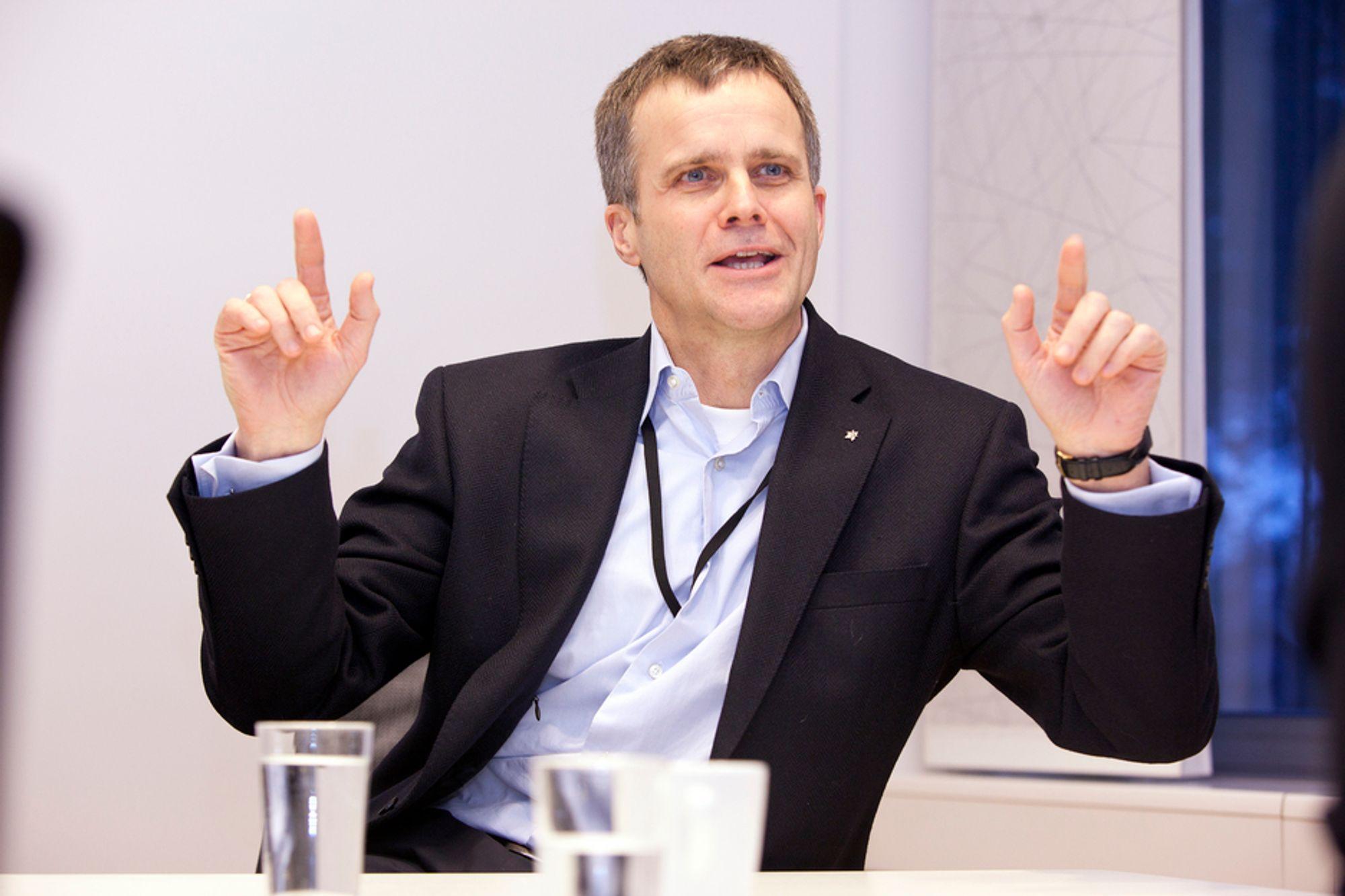 PÅ TOPP: Helge Lund leder verdens mest ansvarlige selskap, ifølge Fortune Magazine.