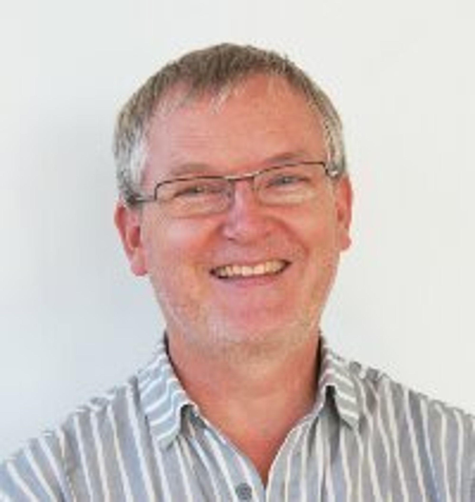 Finn Ørstavik, prosjektleder ved NIFU