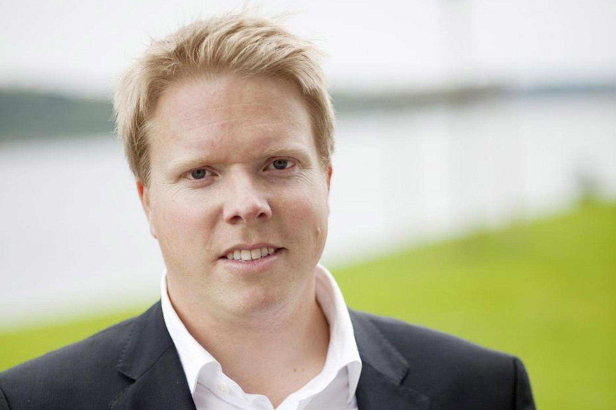 BEGYNNER NÅ: Eivind Helgaker er ansatt som ny sjef for Ice og begynner i jobben umiddelbart.