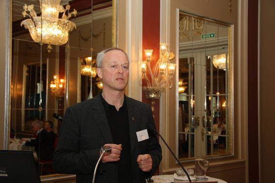 MÅ SNU: Byggenæringen må snu 180 grader og legge større vekt på tekniske installasjoner, forlangte Bjørn Holm fra Entra Eiendom.