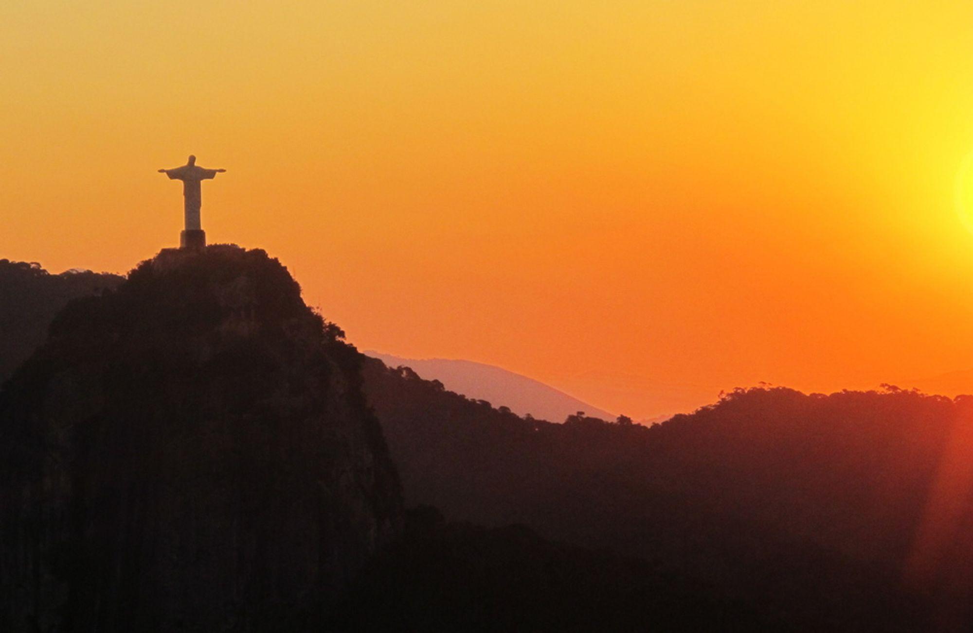 Jesus-statue Rio de Janeiro